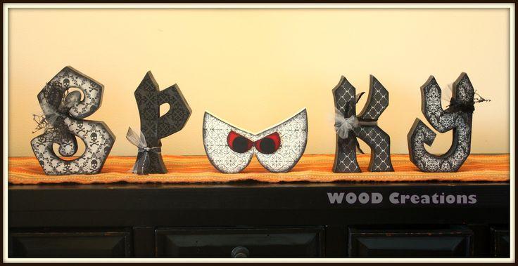 WOOD Creations: Halloween Creations!