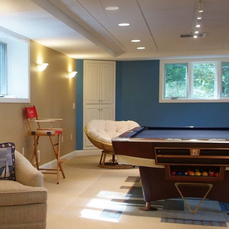 17 Best Images About Awesome Finished Basement Game Rooms