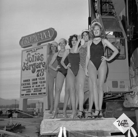 The Tropicana Las Vegas is home to the Tropicana Showgirls Rare Photos Reveal How Las Vegas Has Transformed Over the Years - Page 43 of 50