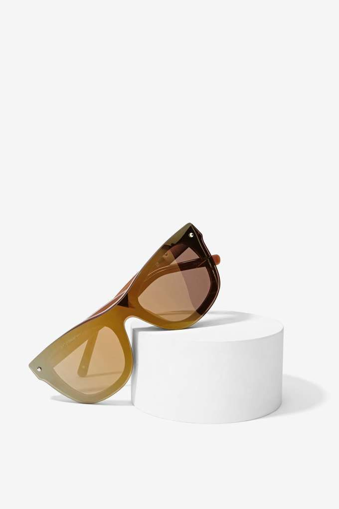 Phillip Lim x Linda Farrow Shield Shades.