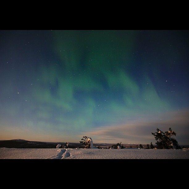 Aurora in Levi, Finland