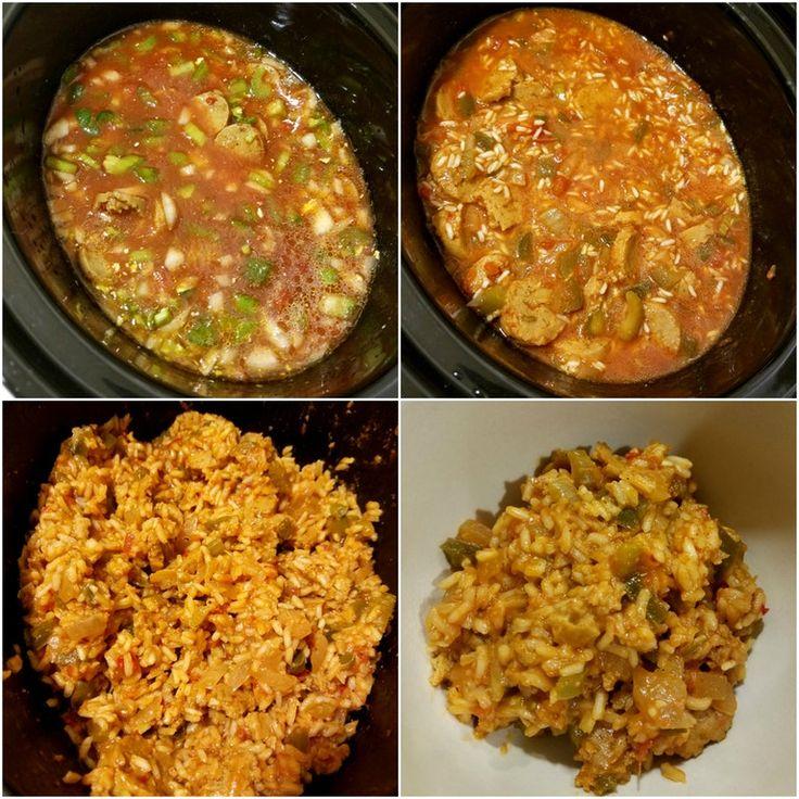 Vegetarian Jambalaya (~200 calories per serving) : 1200isplenty