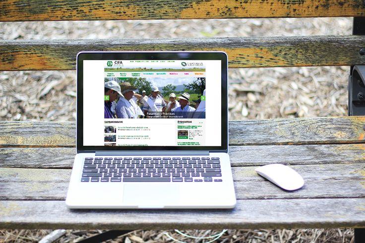 Diseño de Página Web CIFA (Fundación Educativa para la Equidad y el Desarrollo Rural) implementado en Wordpress
