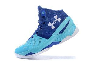 693564eb2d9 Mens Under Armour Curry 2 Two UA Haight Street Midnight Navy 1259007-428  Basketball Shoes