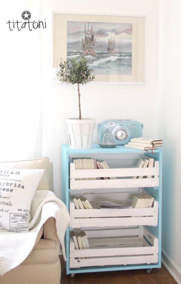 chez TITATONI + de 20 tutos de meubles faciles à réaliser