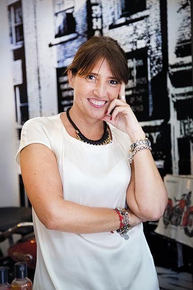 Creatividad y análisis son imprescindibles para el día  a día de Marcela Pittaluga, gerente de marketing de Biotherm y Kiehl's. Foto de Ignacio Sánchez