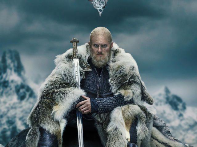 Collection Of Gustaf Skarsgard Hd 4k Wallpapers Background Photo And Images Bjorn Ironside Vikings Season Vikings