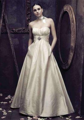 Paloma Blanca Wedding Dress $1,200