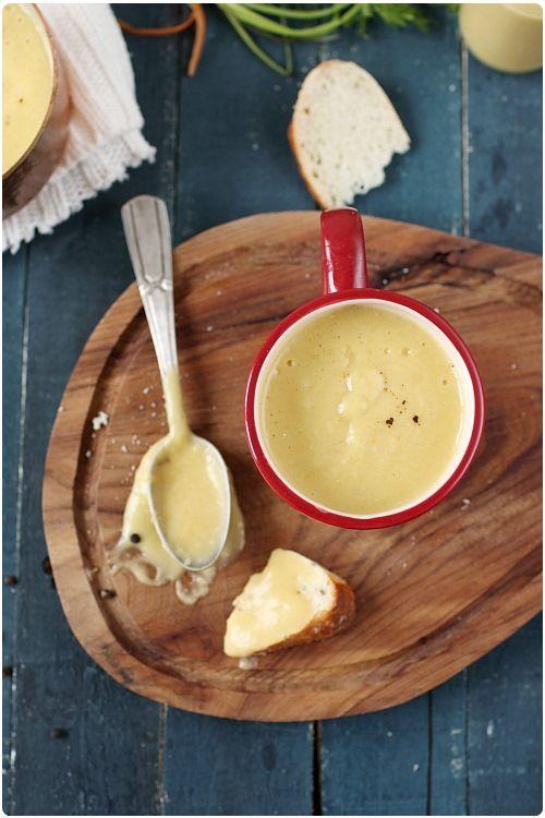 Velouté de flageolets aux légumes / Butter Bean Soup