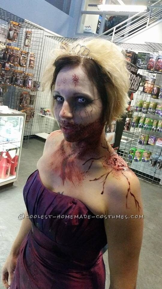 Zombie Prom Queen Costume... Coolest Halloween Costume Contest
