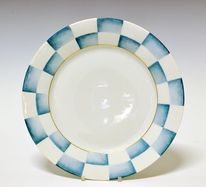 Dinner plate by Nora Gulbrandsen for Porsgrund Porselen. Production year 1927-35.