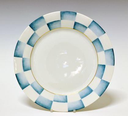 Dinner plate by Nora Gulbrandsen for Porsgrund Porselen. Production year 1927-35.