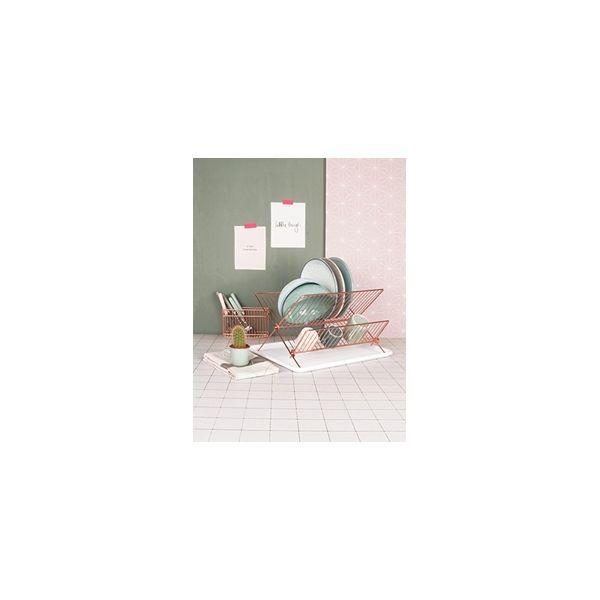 Kitchen Dish Drainer Rack Copper | Kitchenware | Cult Furniture