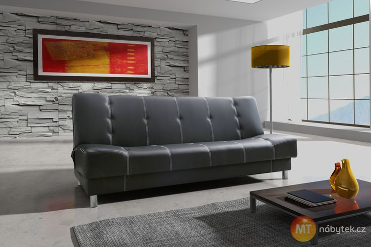 Gauč s úložným prostorem Artemia - rozkládací #settee #sofa #divan #couch