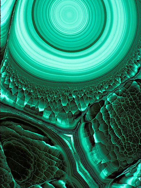 Malachite. Beautiful and deadly since it is a form of asbestos.