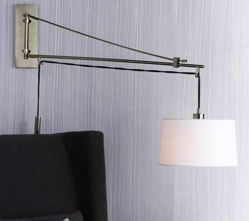 West Elm wall mounted lamp Decor ideas Pinterest Wall mounted lamps, Wall mount and ...