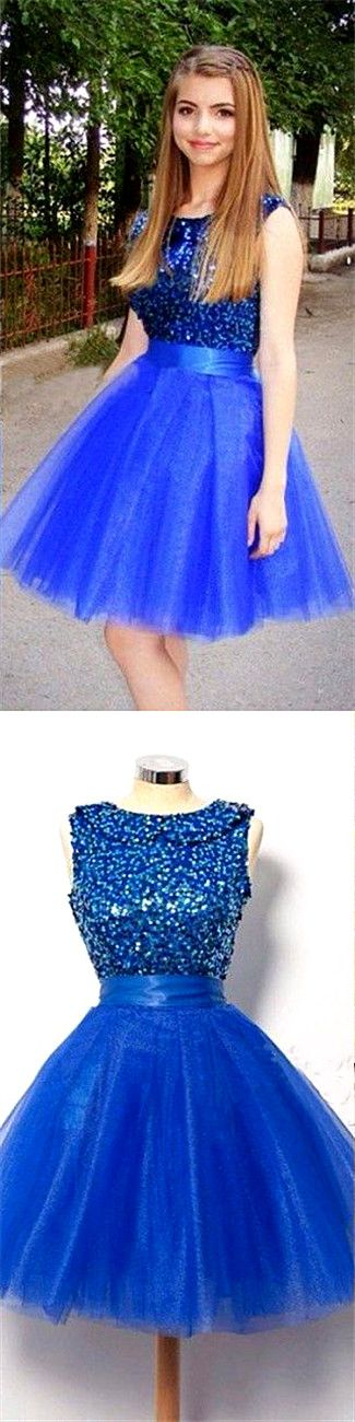 Dresses,Tulle Homecoming Gowns,Fitted Party Dress,Silver Beading Prom Dresses,Sparkly Cocktail Dress