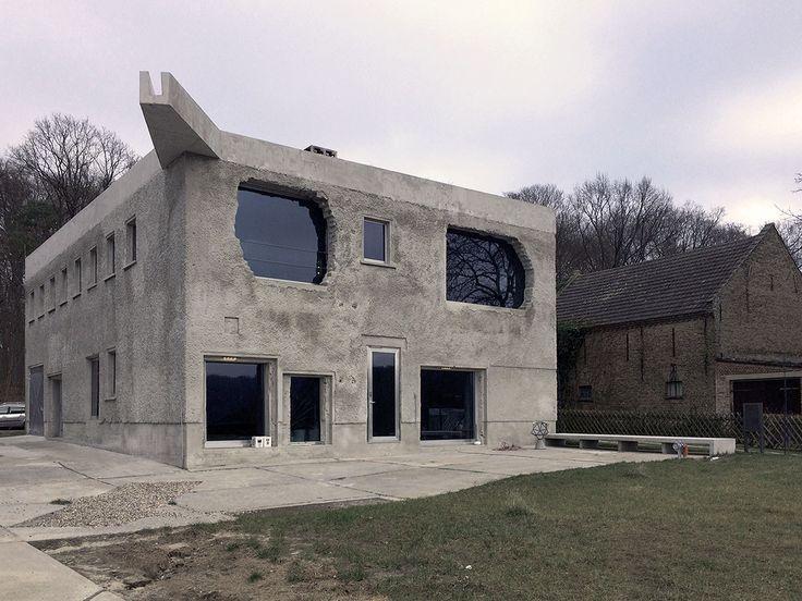Über die Antivilla von Arno Brandlhuber / Monument gegen den Dämm-Wahn - Architektur und Architekten - News / Meldungen / Nachrichten - BauNetz.de