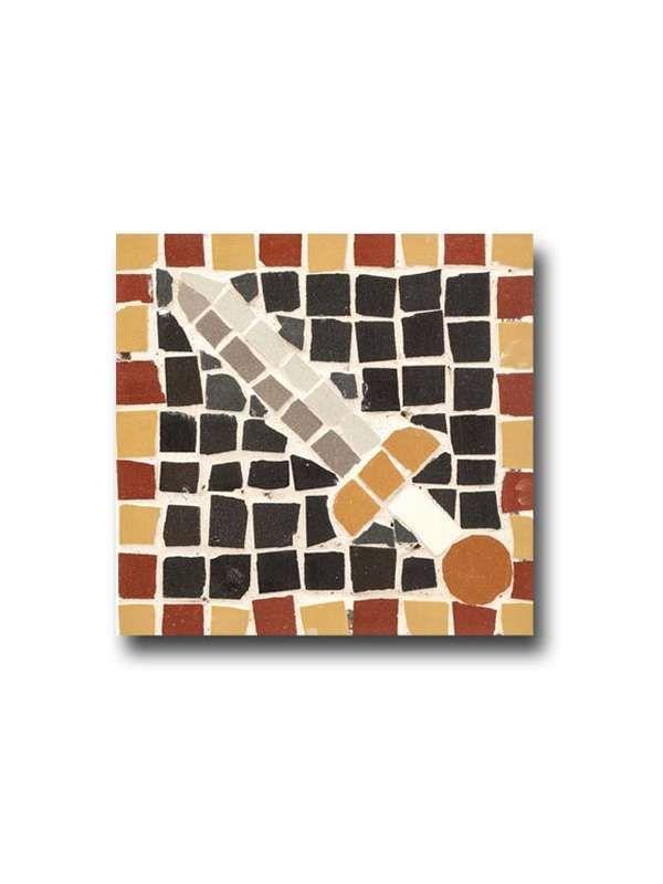 Mosaik 3er Set Rom Gladius Mosaikfliese Bemalen Mal Vorlage Der R Mosaik Muster Mosaikfliesen Mosaik