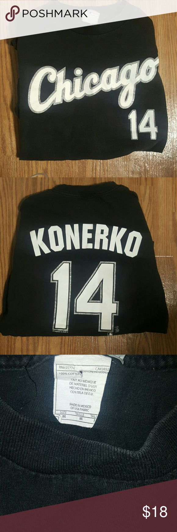 Chicago White Sox Paul Konerko Short Sleeve Tee Very good condition! Best for Chicago White Sox Fans! VINTAGE! Great find & Great deal! Fits true to size! Shirts Tees - Short Sleeve
