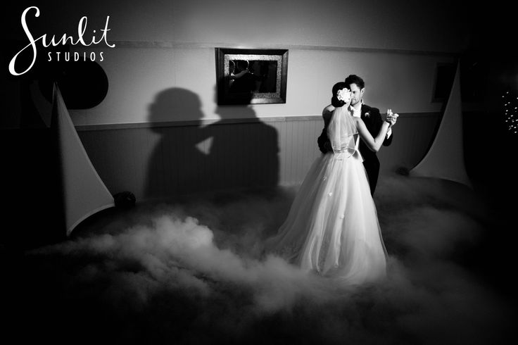 Add a touch of magic with dry ice during your first dance as husband and wife!