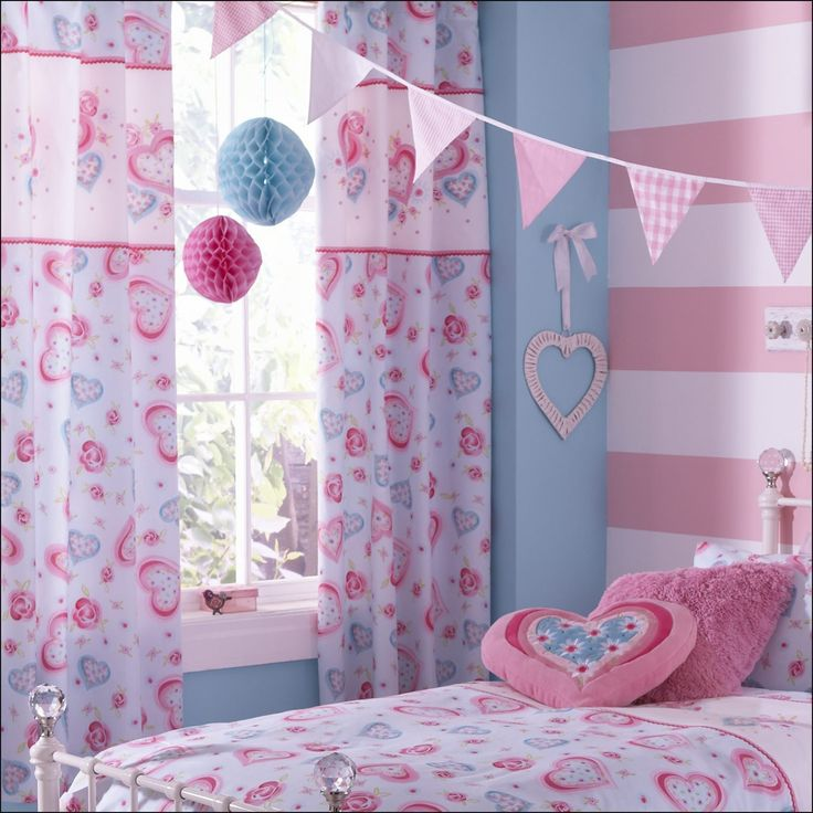50 Cute Curtains For Girls Room