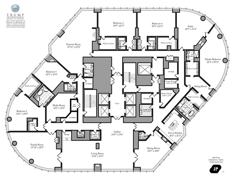 Pinterest the world s catalog of ideas for Luxury apartment floor plans nyc