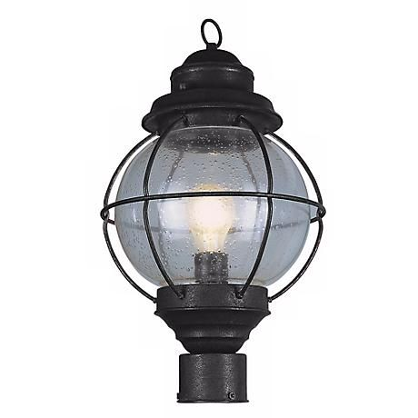 The 25 best outdoor post light fixtures ideas on pinterest old tulsa lantern 19 high black outdoor post light fixture aloadofball Gallery