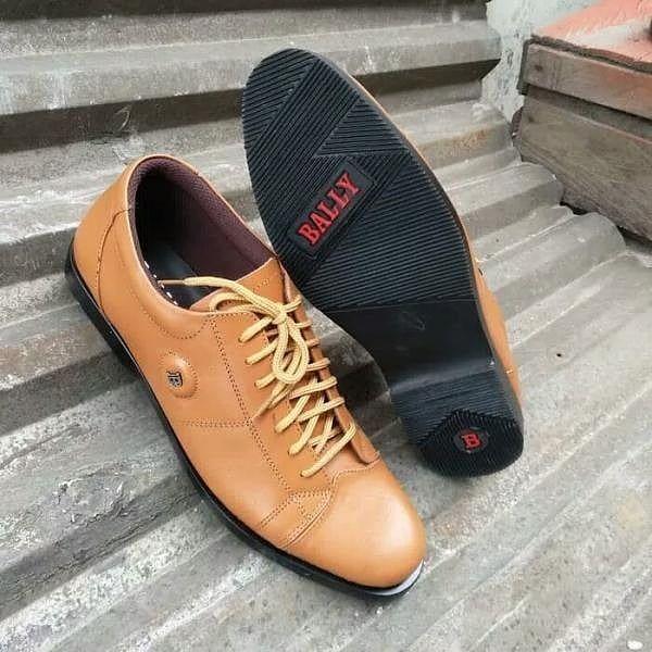 Sepatu Balli Pantofel Pria Kulit Asli Sepatu Formal 900 Gram Merk