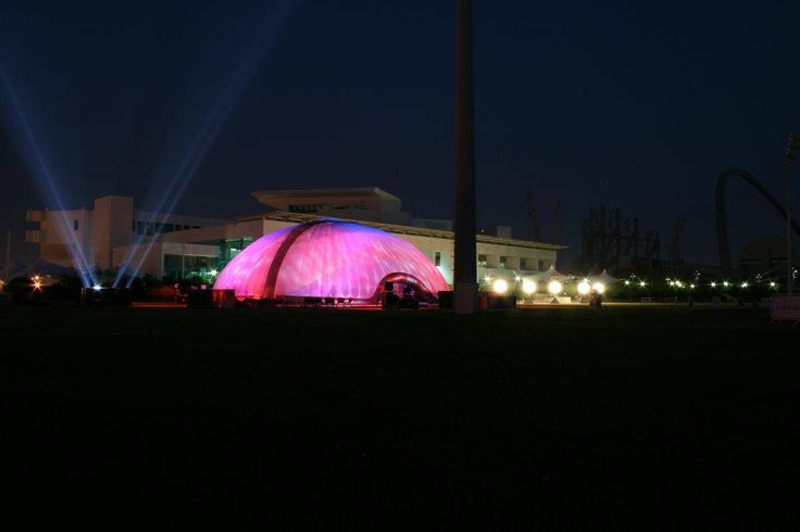 The only thing that people see  #Inflatable #Temporary #Structure #Events http://www.dryspace.ae    engage@dryspace.ae
