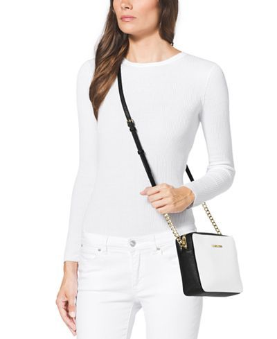 MICHAEL Michael Kors Jet Set Travel Large Crossbody - Designer Handbags - Handbags & Accessories - Macy's