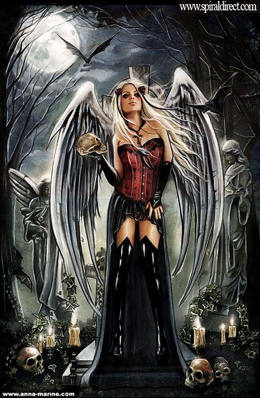 Angel of death for Spiral direct by Anna-Marine.deviantart.com on @deviantART