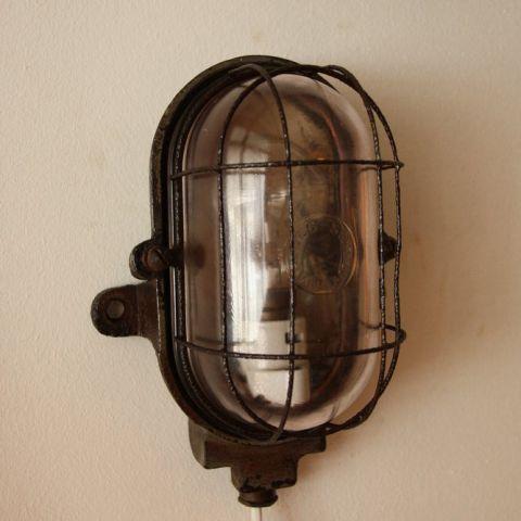 Mapelec Amiens bull eye lamp