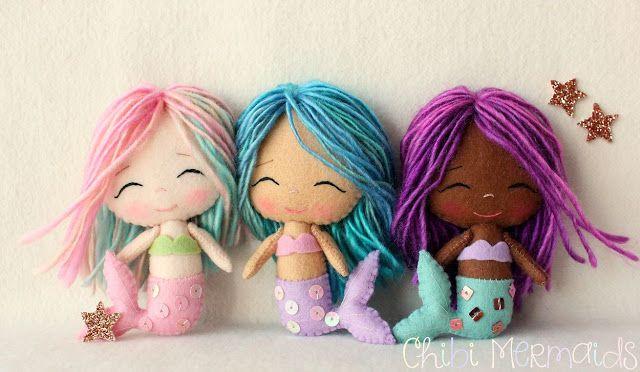 Gingermelon Dolls: Chibi Anjos e sereias                                                                                                                                                                                 More