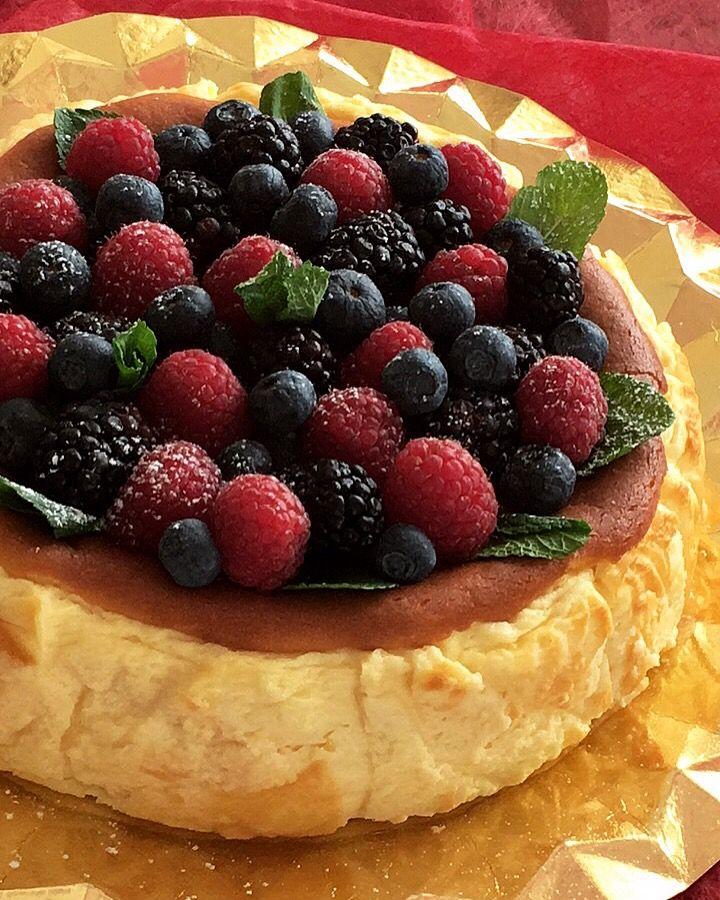 Receta de la tarta de queso de La Viña, fácil y exquisita