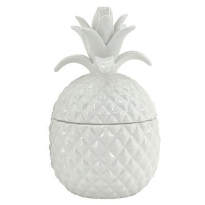 Ceramic pineapple in yellow. www.designarthouse.com.au