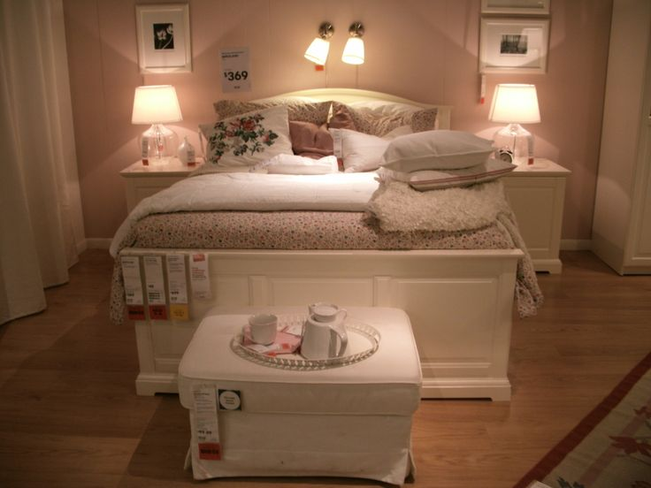 Ikea bedroom setup