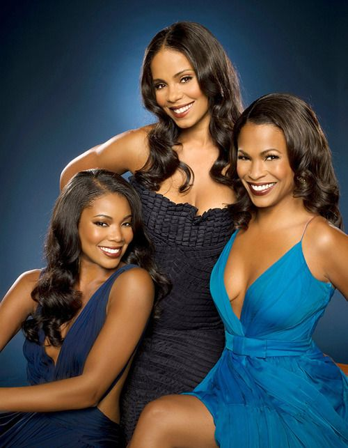 "Gabrielle Union (Left) Sanaa Lathan (Center) Nia Long (Right)\/)L1s .._`-;""   QS oN MyNz  (/\)Es(/\)HoOP""  oNfiCiALLy oN tHe 2Nd MoNth   t!(/\)eNtYfiRSt of fEB"