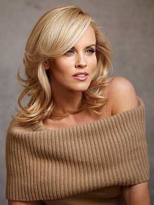 Jenny McCarthy - Love this hairstyle