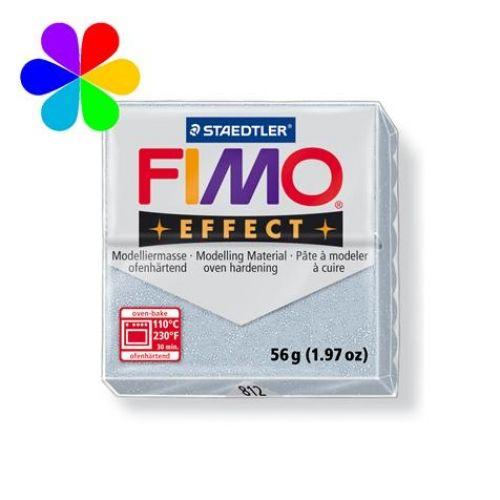 Fimo Effect - argent pailleté - n°812 - Loisirs Créatifs Pâte Fimo Effect