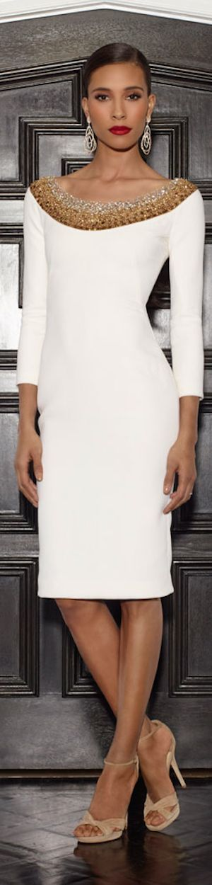 Lorena Sarbu Resort 2015 - Love the shape and style and the neck line
