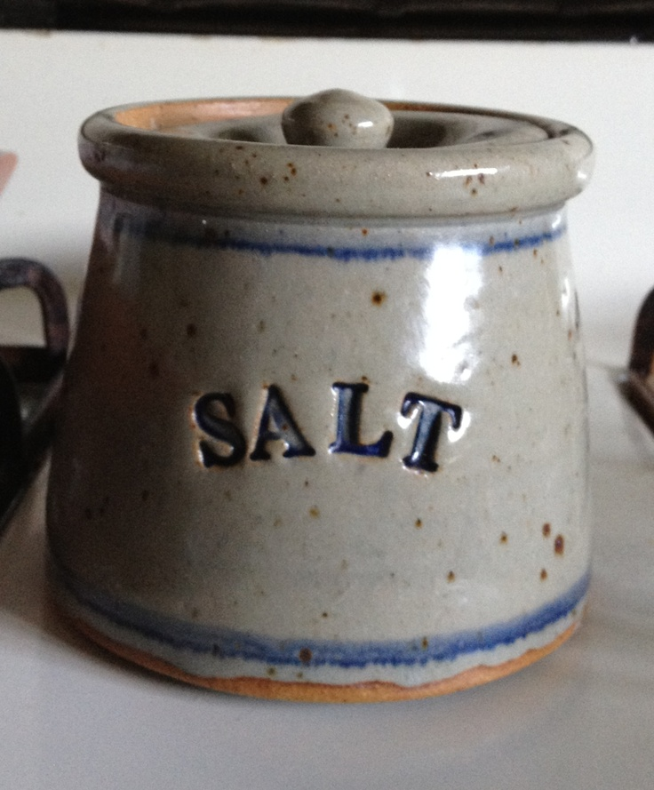 Stoneware Salt Cellar & 325 best Salt Cellars images on Pinterest | Salt box Container and ...