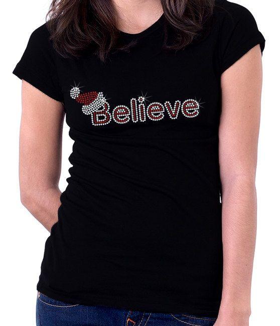 Santa Baby Rhinestone Shirt by RascoPrints on Etsy, $19.99