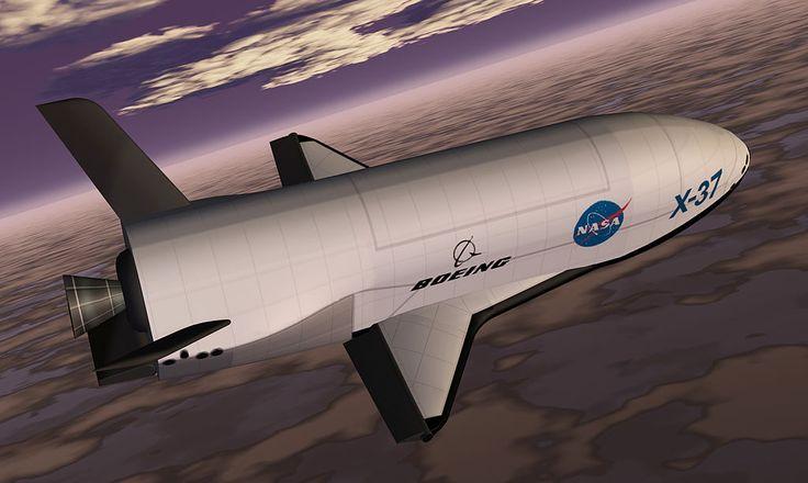 Boeing X-37 spaceplane. http://www.aerospaceguide.net #space #plane #aircraft #spacecraft