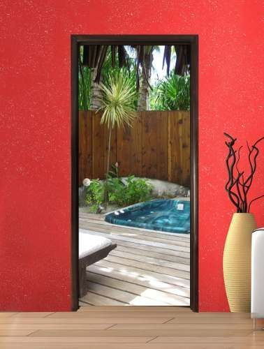 12708 mlm20065097697 032014 378 500 vinilo para for Vinilos decorativos para puertas