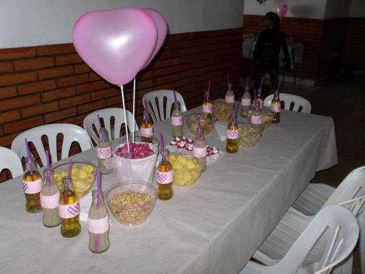 bebidas!!!  by Dulcinea de la fuente www.facebook.com/dulcinea.delafuente  #fiesta #festejo #cumpleaños #mesadulce#fuentedechocolate #agasajo# #candybar  #tamatización #personalizado #souvenir  #regalos personalizados #catering finger food