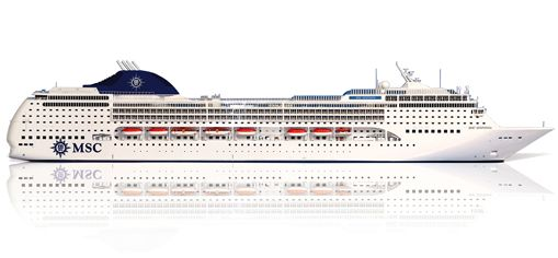 MSC Sinfonia cruise ship Deck Plan