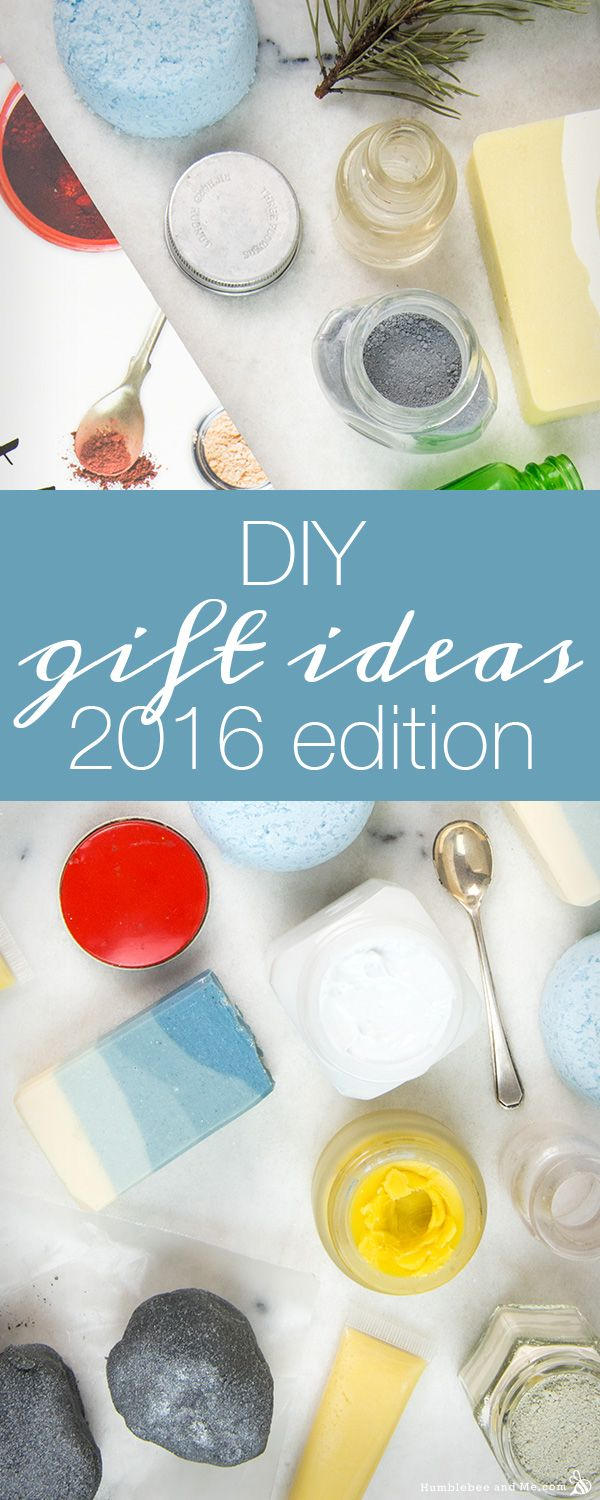 DIY Homemade Christmas Gift Ideas: 2016 Edition