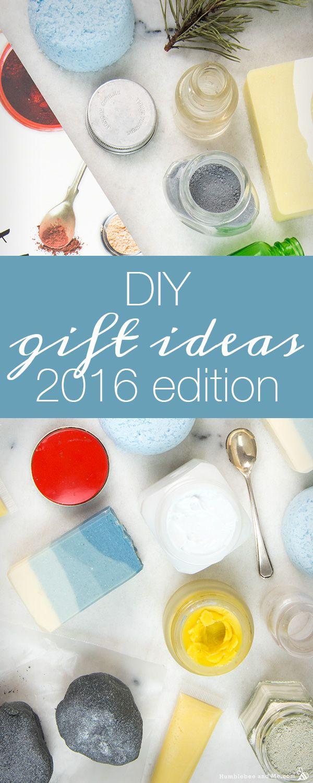 DIY Homemade Christmas Gift Ideas: 2016 Edition