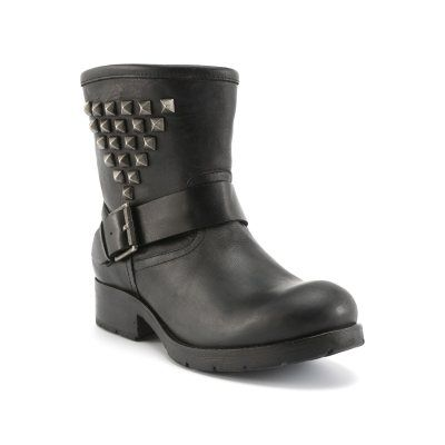 Boots En Cuir {159,99 €}